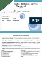 NUEVO FORMATO2 Plan Anual de Trabajo Para Carrera Magisterial