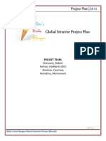 Project Plan- Oldie's Global Initiative Project