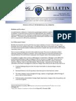 Oakland Police training bulletin