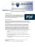 Oakland Police training bulletin