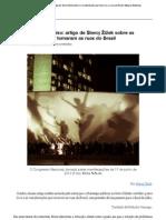Problemas no Paraíso_ artigo de Slavoj Žižek