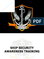 Ship Security Awareness Training