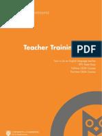영국 Anglo Continental Teacher Training Prospectus 2013