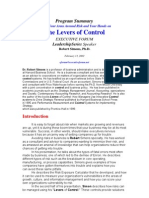 Reading12-Levers of Control