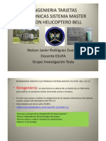 Reingenieria Tarjetas Electronicas Sistema Master Cautio Helicoptero Bell