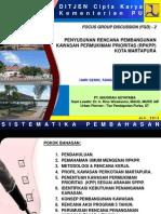 Penyusunan Rencana PeMBANGUNAN Kawasan Permukiman Prioritas (RPKPP) Kota MARTAPURA