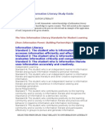 Information Literacy Study Guide_NBPTS