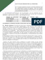 tipos de mundo en la literatura 2° A 2013