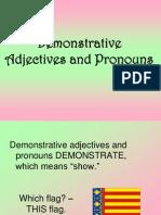 Demonstrative s