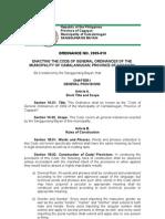 Code of General Ordinances