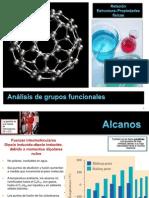 Análisis de grupos funcionales