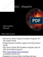 SQL Server 2012 AlwaysOn