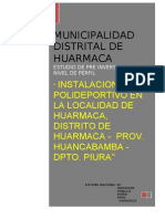 Perfil de Guia Huarmaca