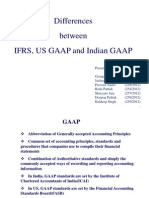 ppt on IFRS, US GAAP and Indian GAAP