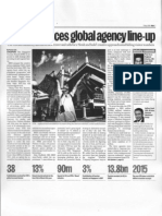 STB announces global agency line-up - Media, 7 May 2009