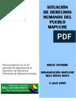 Informe de Derechos Humanos