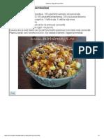 Salata sa integralnim pirinčem
