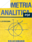 Solucionario de Geometria Analitica - R. Figueroa