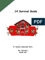 Language Arts Student Handbook