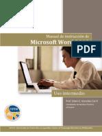 Word 2010, Uso Intermedio