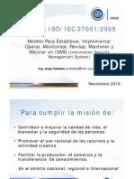 Iram Iso 27001 en Chile