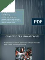 Introducción al control y automatización