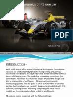 Formula1 Race Car Aerodynamics