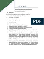 Clase 3- Parasitolgía- Helmintos
