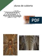 Armaduras de cubierta y menbranas y estructuras neumáticas