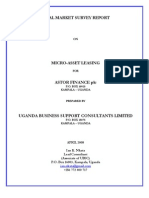 Astor Finance_Final_Survey_Report_Ian Nkata_Uganda