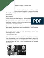 Informe de antecedentes y causas de la revolución china (1)