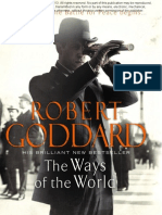 July Free Chapter - The Ways of the World by Robert Goddard