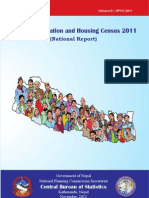 National Report of Census
