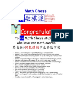 Congratulations - 2013 Math Awards