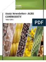 Daily Agri News Letter 09 July 2013