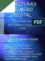 Fracturas de Humero Distal