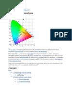 Color Temperature Kelvin