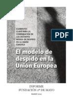DT - El Modelo de Despido en UE, 2012