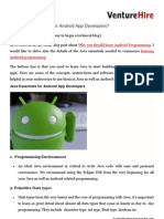 Java Essentials Need for Android App Developers
