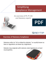 Simplify Statutory Compliances with Greytip Online