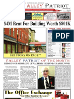 The Valley Patriot Newspaper, North Andover Massachusetts, July 2013,