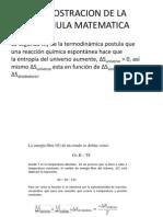 Demostracion de La Formula Matematica