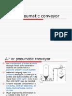 Air or Pneumatic Conveyor
