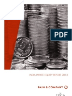 BAIN REPORT India Private Equity Report 2013