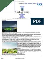 ASCE's Civil Engineering Magazine
