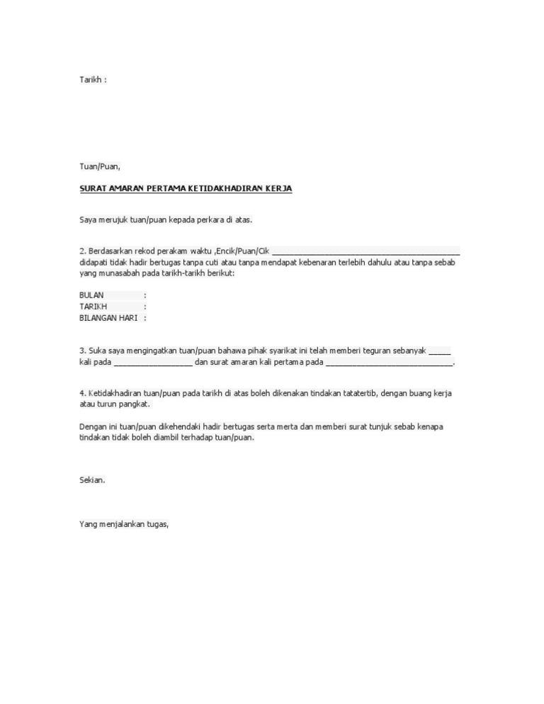 Warning Letter Docx