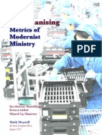 The Dehumanising Metrics of Modernist Ministry