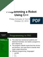 Programming Robots Inc 2011