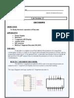 12) Decoderr Prac 12