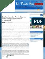 Clasificados online Puerto Rico - una forma ecológica de fortalecer la comunidad